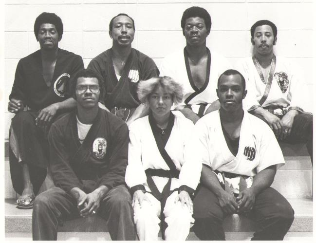 1979 Karate Five Founders Photo